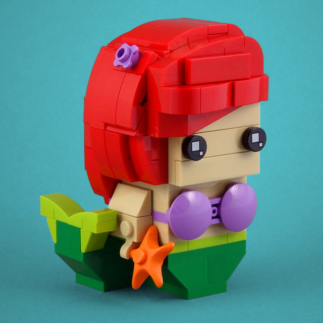 LEGO BrickHeadz Ariel The Little Mermaid