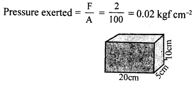 Selina Concise Physics Class 8 ICSE Solutions - Force and Pressure 23.2