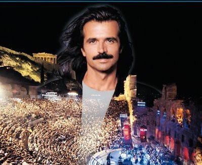 "YANNI Celebrates the 25th Anniversary of ""Live at the Acropolis"""