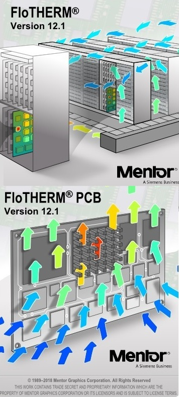 Mentor Graphics FloTHERM Suite 12.1 x64 full