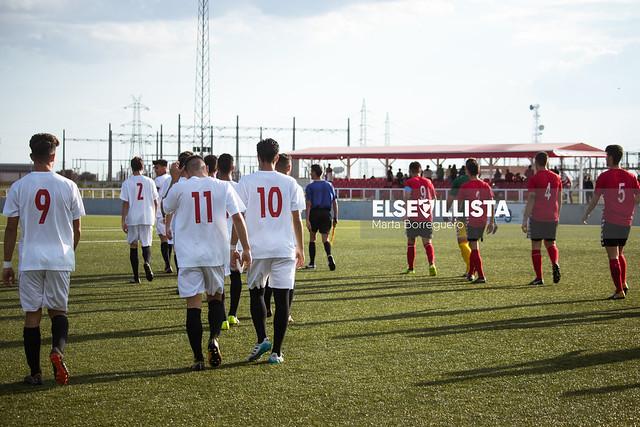 Sevilla FC 7-0 AD Cartaya (Liga Nacional Juvenil G.XIV