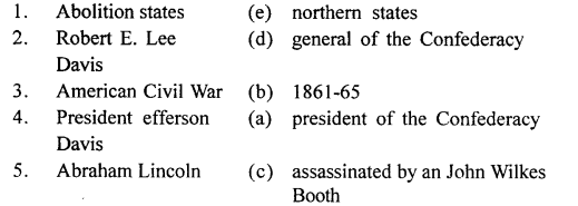 ICSE Solutions for Class 8 History and Civics - The American Civil War-his-00037