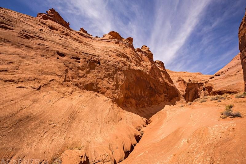 Leprechaun Canyon Entrance