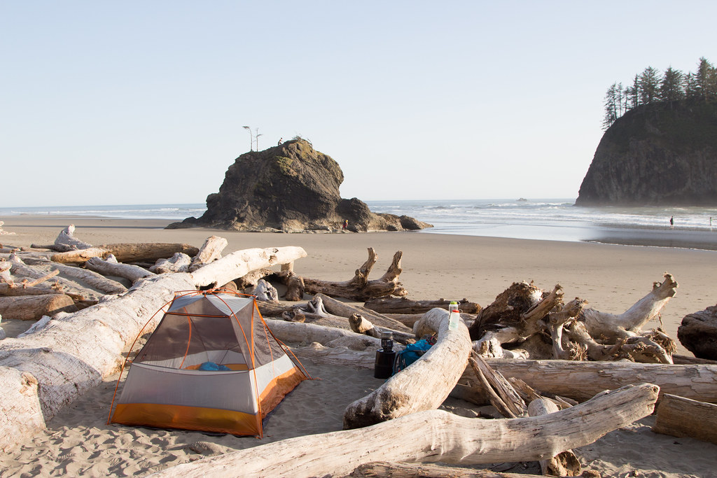 Camping on the Olympic Peninsula
