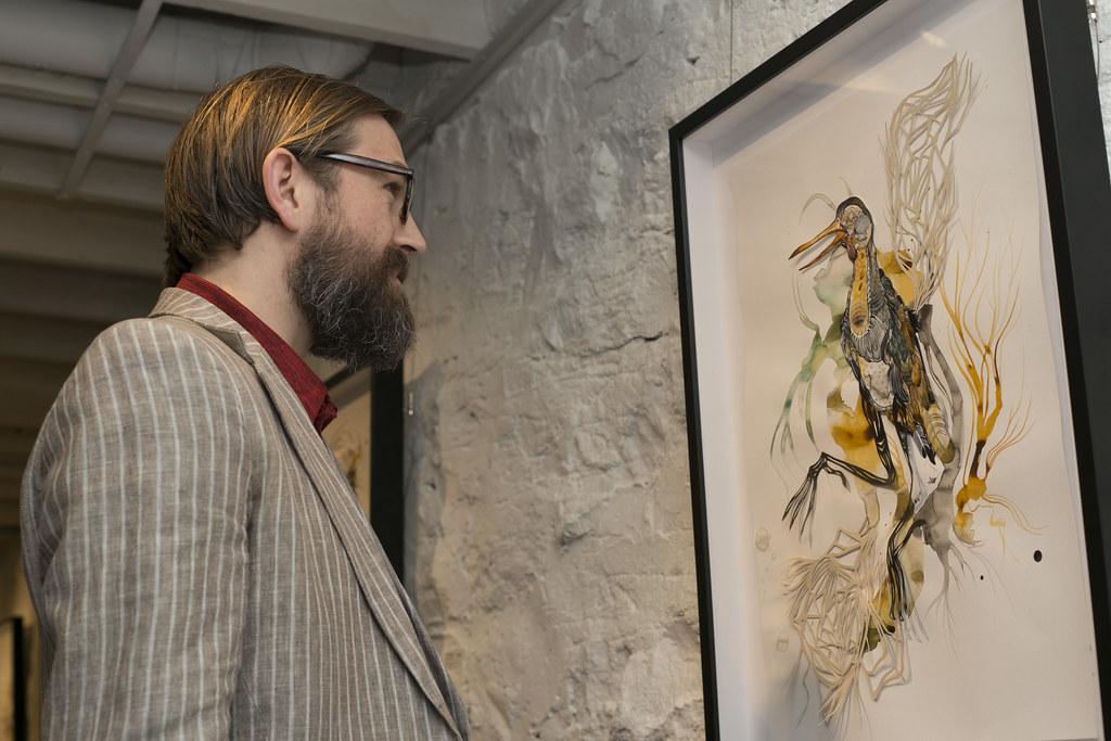 Paper Aviary @ Seven Below Gallery