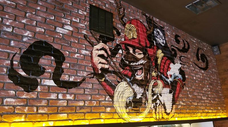 Brick Wall Rough Wrap Installation