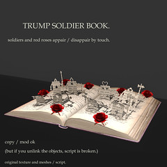 *NAMINOKE*Trump Soldier Book