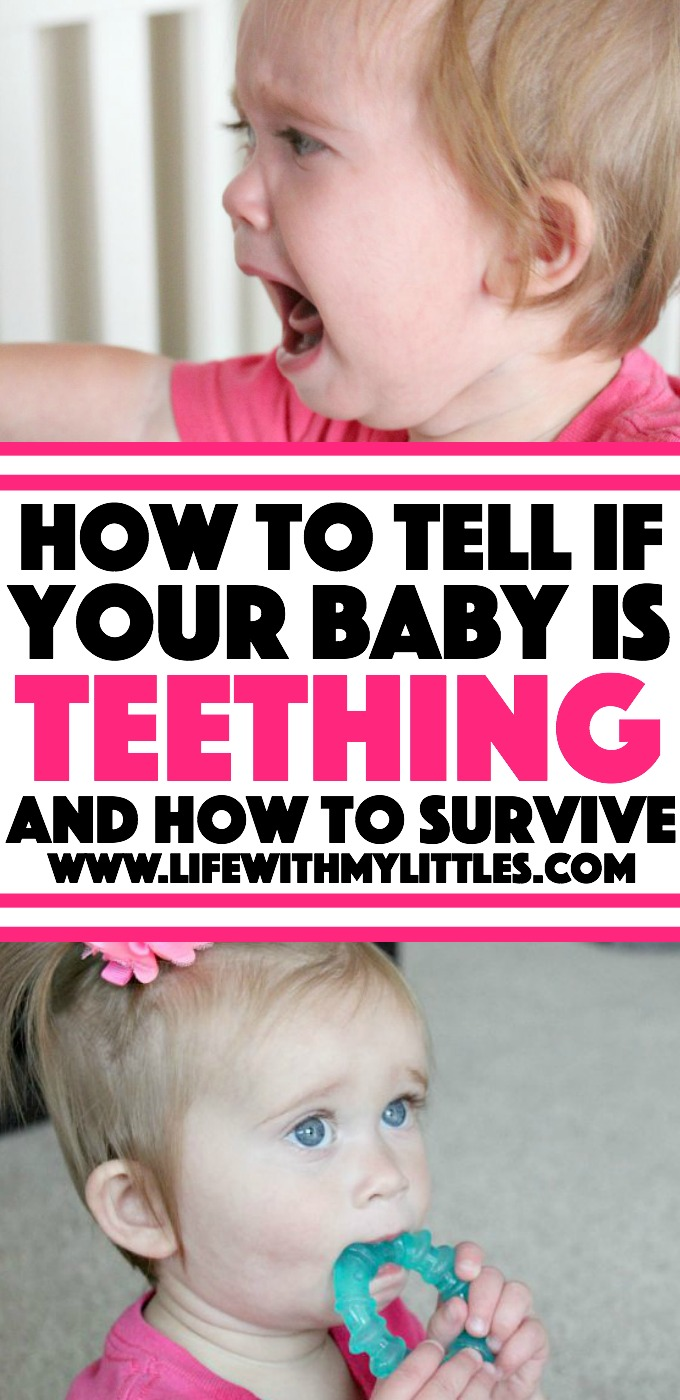 How to tell if your baby is teething (and tips to make it through!). Teething doesn't have to be rough for your baby or you!