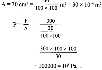 Selina Concise Physics Class 8 ICSE Solutions - Force and Pressure 20.1