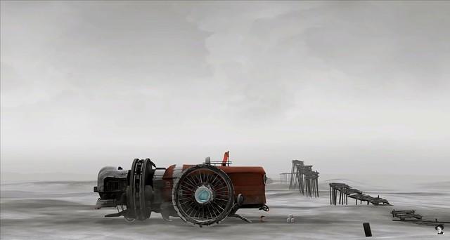 FAR Lone Sails - Una caja de Steam