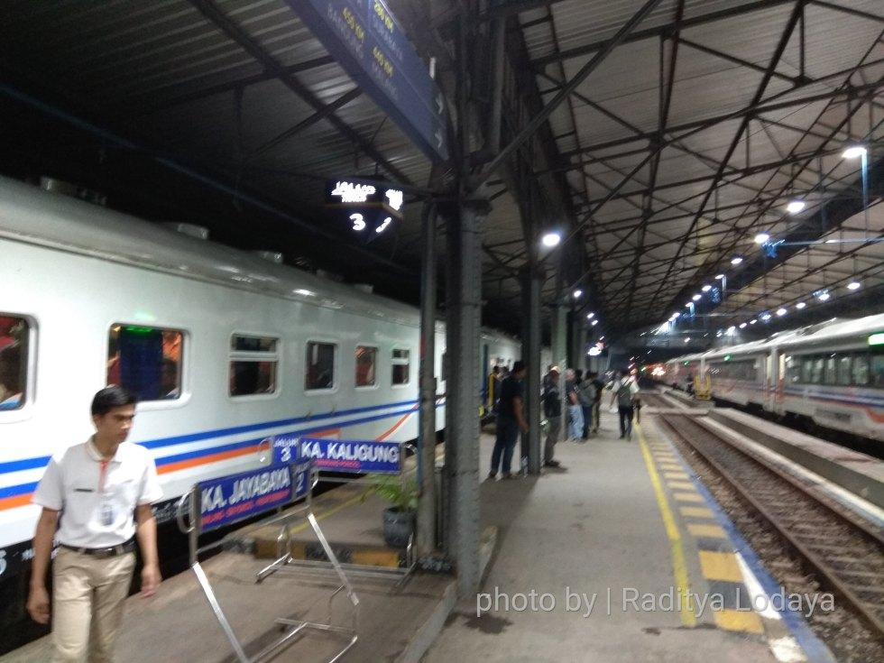 22 TRIP REPORT KERETA API JAYABAYA 3(TEGAL CEPU) - STASIUN SEMARANG PONCOL 6
