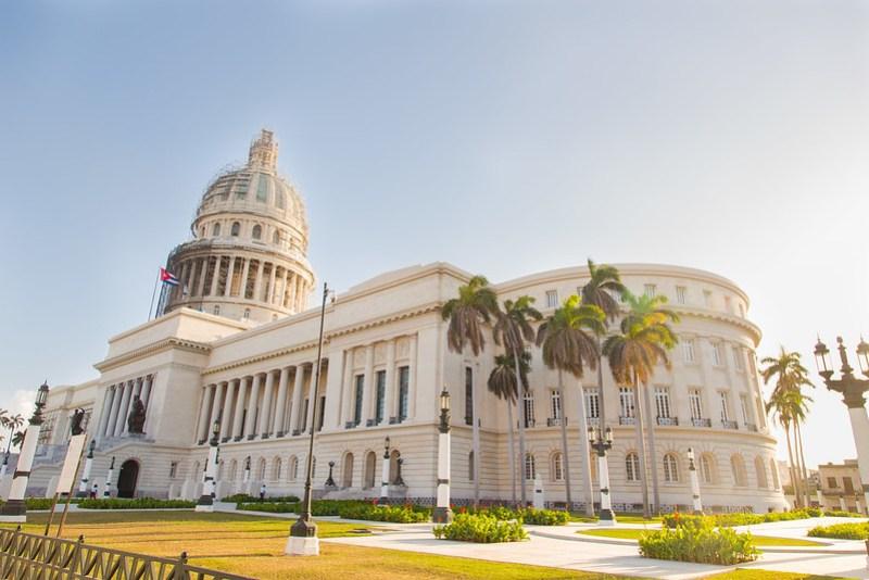 Cap[itolio in Havana