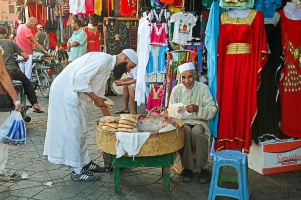 Regatear en Marrakech