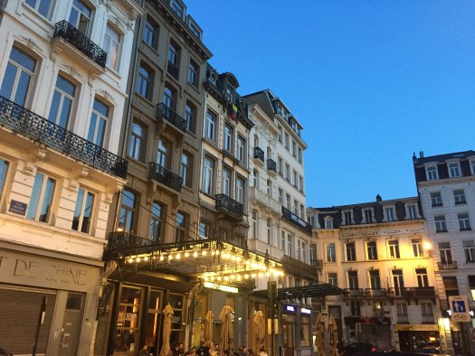 Place Fontainas, Bruselas. Brussels, Belgium