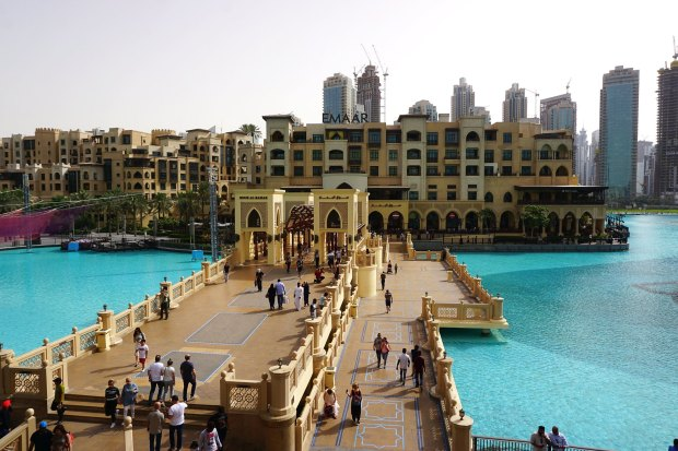 Souk Al Bahar, next to the Dubai Mall