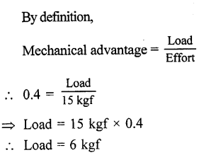 Selina Concise Physics Class 6 ICSE Solutions - Simple Machines 19