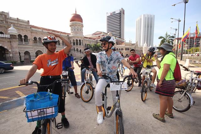 Bike with Elena - Merdeka Square