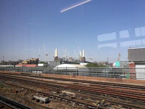 Cranes over Battersea