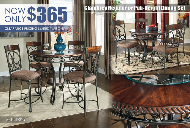 Glambrey Dining Collection_CLEARANCE