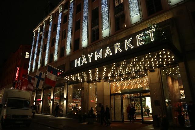 Haymarket by night winter (1)