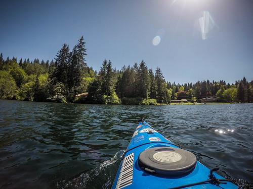 Lake Whatcom Paddling-37