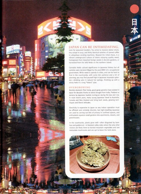 Zen Rambling in Japan article in Heads magazine
