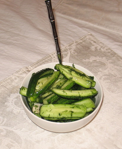 Freshly Salted Cucumbers