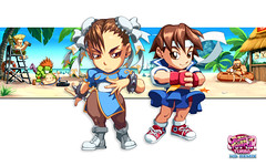 Puzzle Fighter Street Fighter Ken Ryu
