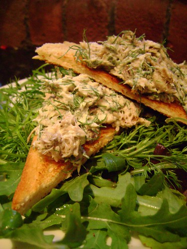 Smoked Mackerel and Fennel Pate