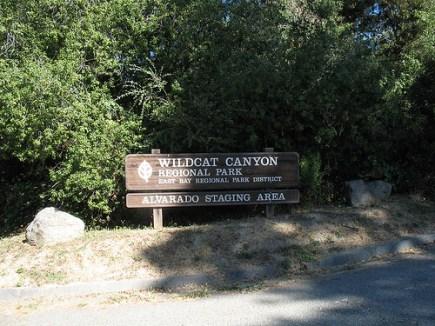 alvarado staging area, wildcat canyon, richmond hills