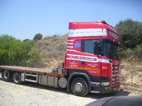 Scania Truck.........Limassol,  Cyprus