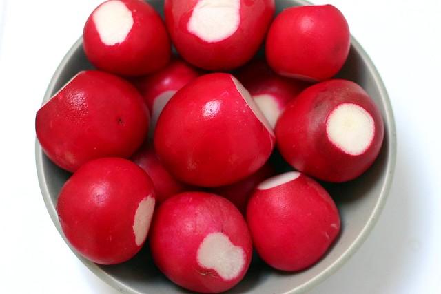 greenmarket radishes