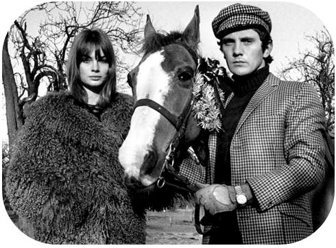 Terence Stamp & Jean Shrimpton