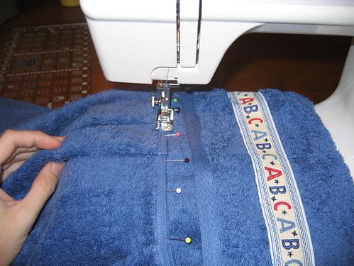 Hooded Towel Tut: Step10-