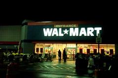 Wal-Mart Entrance