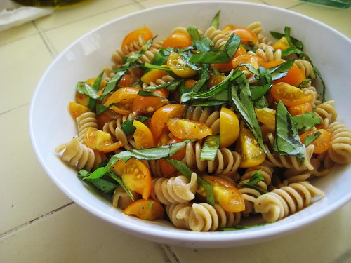 fresh tomatoes & pasta, pt.5