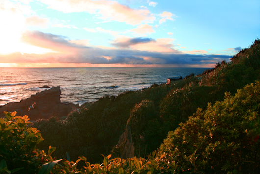 Cape Foulwind sunset