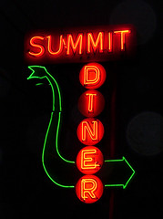 Summit Diner Neon Sign (Somerset, Pennsylvania)