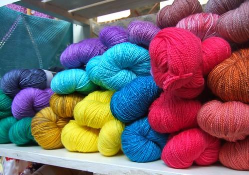 Knitabulous yarns