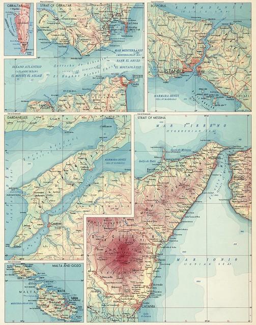 Estrechos en el Mediterráneo (1967)