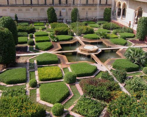 Amber Palace Garden, Jaipur