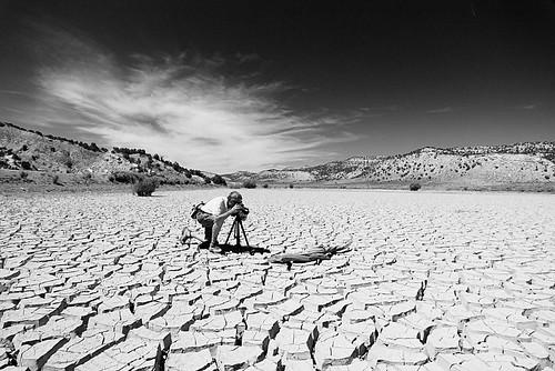 Dad On Mud Flats