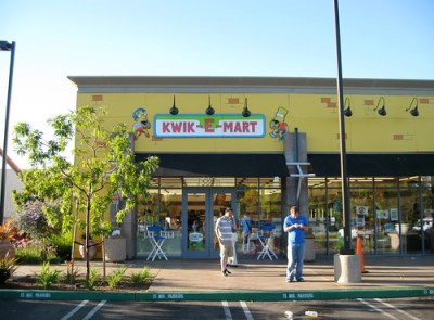 Kwik-E-Mart storefront