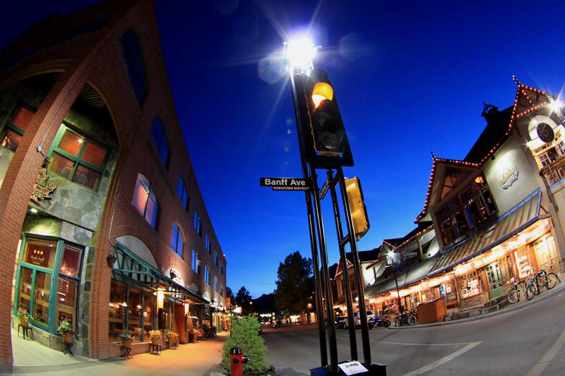 Banff Ave