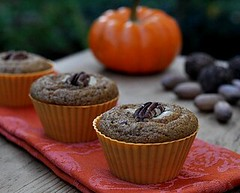 Perfect Whole Wheat Pumpkin Muffins by Kitchen...