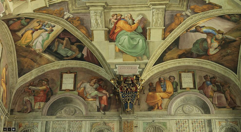 5189290010 ac2eb8fa67 b Sistine Chapel   Incredible Christian art walk through