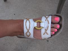 Jill's foot