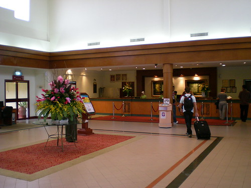 Concorde Inn KLIA - reception lobby