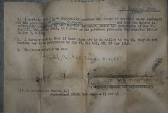 World War II Captured Equipment Document