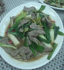 [吃] 官路缺鴨肉店 (9)_炒牛肉